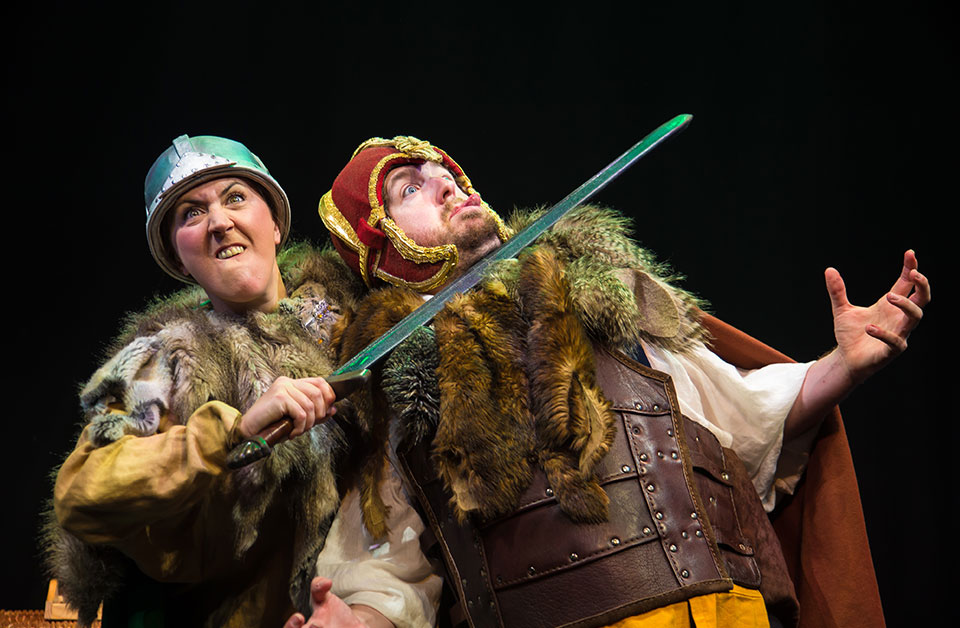 Historical figures invade the stage in Horrible Histories