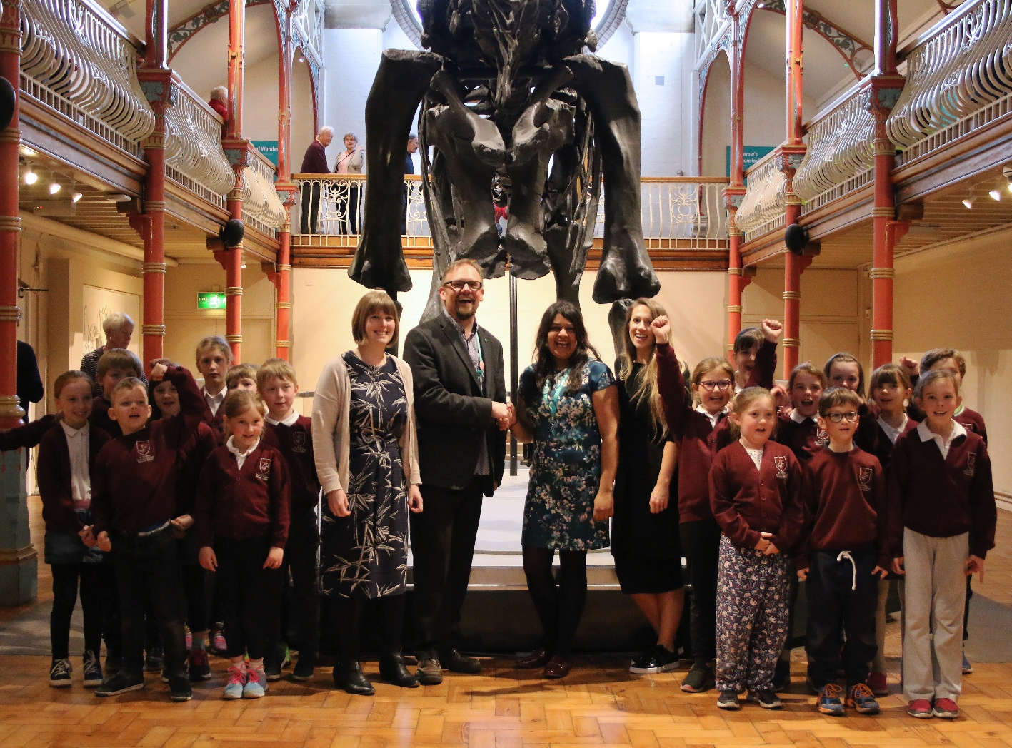 The Countdown To Dippy's Arrival In Birmingham Begins