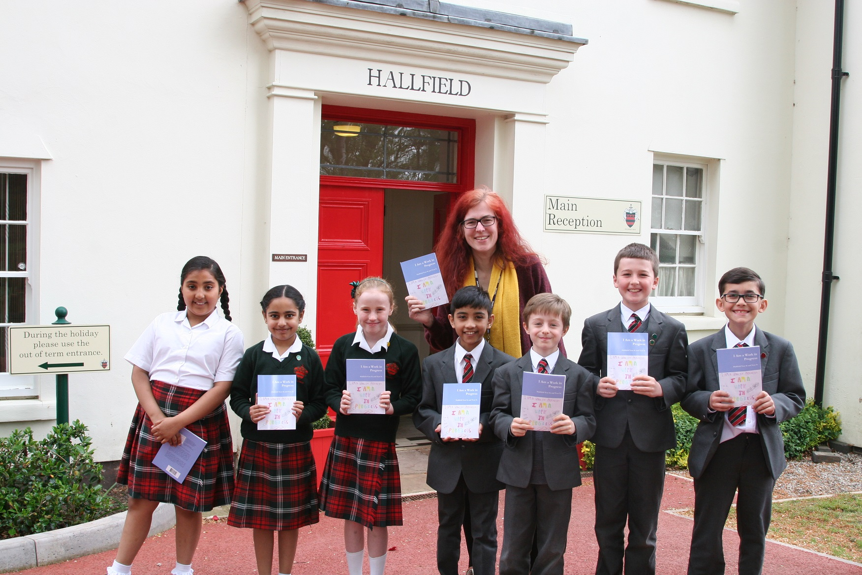 Birmingham children get published as part of school's focus on wellbeing