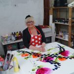 Former Windmill girl turned artist to make guest appearance at Leicester's Oberon Gallery