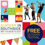 Summer in Southside, Birmingham Hippodrome's Free Family Festival, returns!