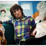 Rare Ronnie Wood paintings to be exhibited in Birmingham