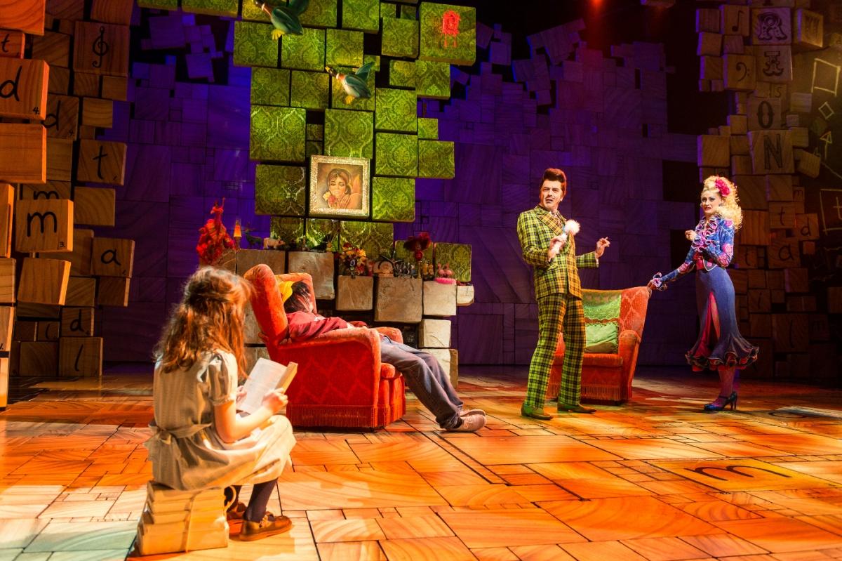 3 - Royal Shakespeare Companys Matilda The Musical. Credit Manuel Harlan