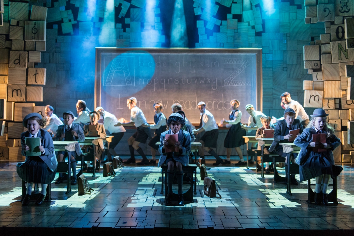 9 - Royal Shakespeare Companys Matilda The Musical. Credit Manuel Harlan
