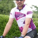 Tom hits the pedals for pancreatic cancer