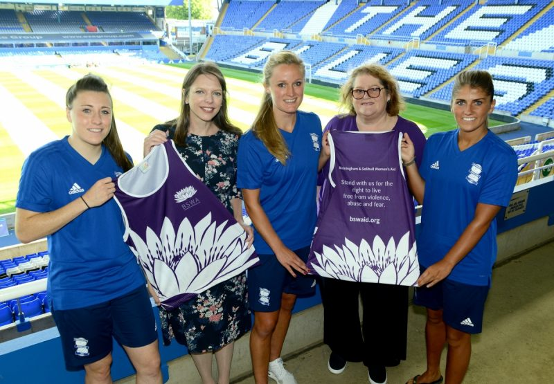 Birmingham City Women to partner with Birmingham and Solihull Women's Aid