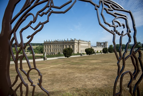 Linder Sterling Takes Alternative View of Sculpture at Chatsworth