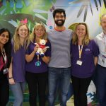 Coronation Street star visits Rainbows Hospice for Children and Young People