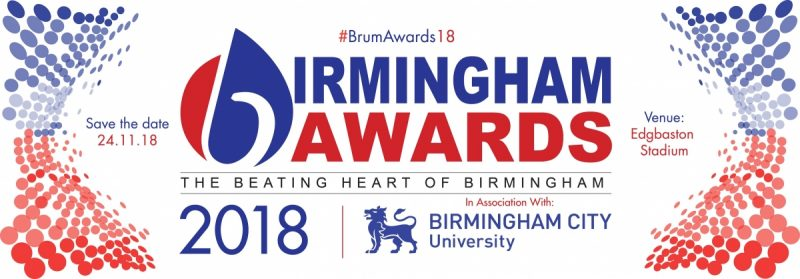 Nomination Deadline 24th September For This Years Birmingham Awards.
