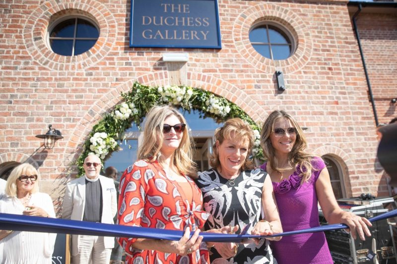Engine Yard At Belvoir Castle Officially Opened By Liz Hurley
