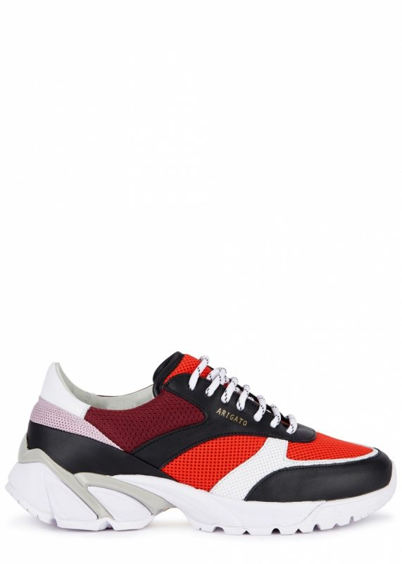 b41f55875 Axel Arigato Tech Runner mesh and leather trainers, £255
