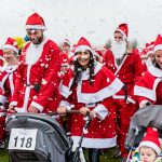 Kickstart the festive season with Birmingham's biggest Santa-themed run