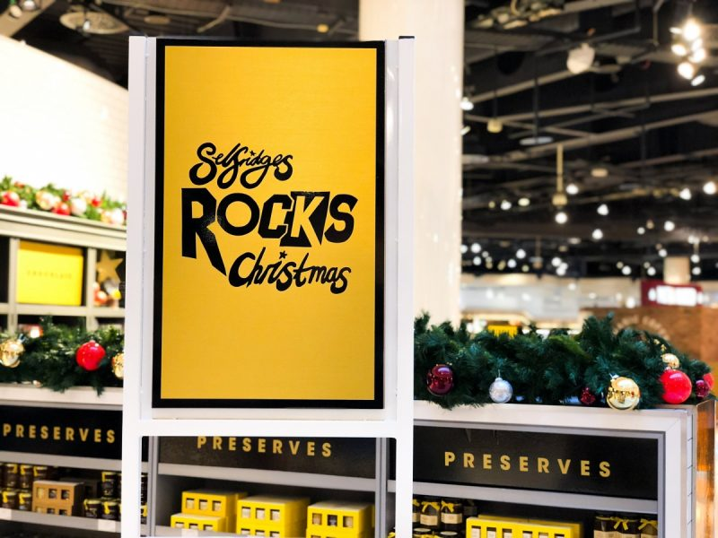 A very deluxe Christmas at Selfridges Birmingham for her