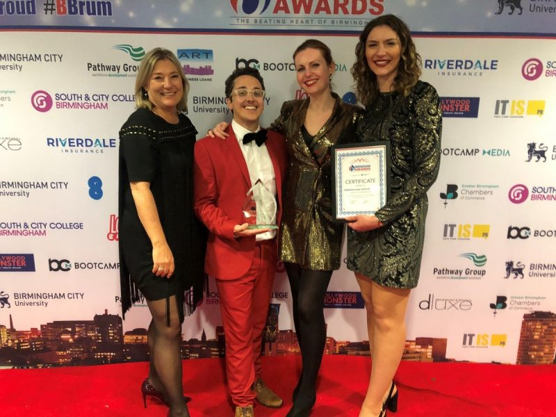A Double Win for Birmingham Hippodrome at Birmingham Awards