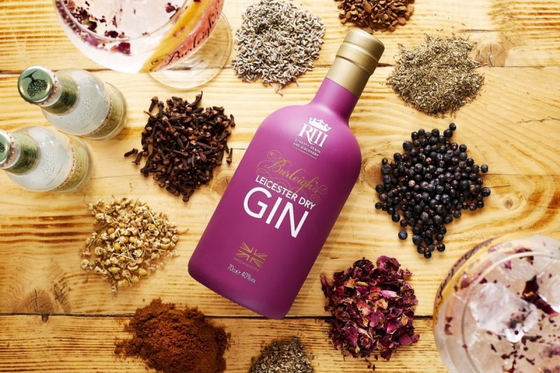 Gin Fit For A King As Burleighs Gin & KRIII Visitor Centre Join Together.