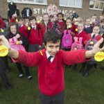 Pupils set for the darker nights with the help of local housebuilder