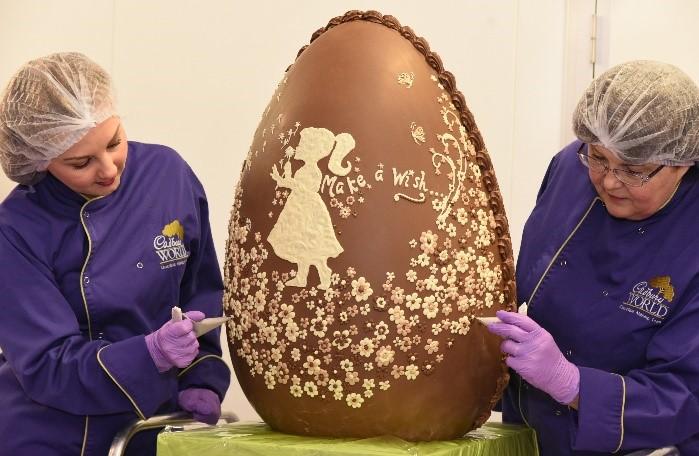 Cadbury World raises egg-stravagant donation for Make-A-Wish