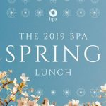 See spring blossom at this year's annual BPA lunch