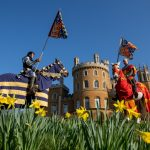 Popular Jousting Weekend Returns to Belvoir Castle After 10 Years