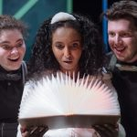 Diverse cast of Deaf and hearing actors bring Mathilda and the Orange Balloon to life