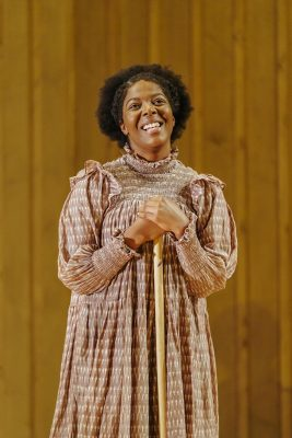 The Color Purple_T'Shan Williams (Celie) and Danielle Fiamanya (Nettie)_Photography by Manuel Harlan