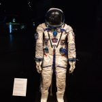 Tim Peake's Spacesuit on display at Leicester Space Centre