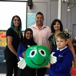 Popular chef shows support for NSPCC's Schools Service in Leicester