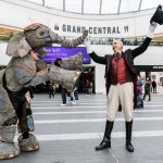 Baby elephant spotted in Birmingham New Street Station!