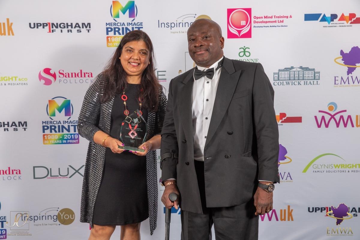 Zinthiya Ganeshpanchan & Mark Esho