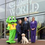 Cadbury World visitors raise £5,000 to name guide dog