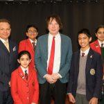 Professor Julian Lloyd Webber Officially Opens Hallfield School's Music Department