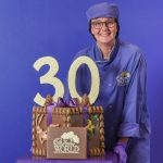 Cadbury World marks 30th anniversary with birthday-themed chocolate creation