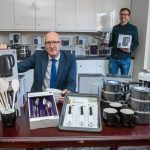 BUILDING SOCIETY HELPS CHARITY WITH HOMEWARE FOR HOMELESS
