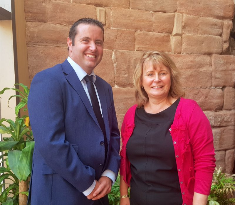 The Coventry BID team, headed up by BID Director Trish Willetts, are celebrating becoming UK Business Heroes