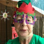 Comedian Jo Brand urges people in the West Midlands to express themsELVES for Elf Day!