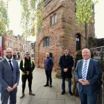 WORK BEGINS TO TRANSFORM HISTORIC CITY GATES