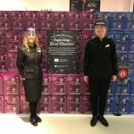 M&S FOOD DONATES £10,000 TO LEICESTER CHARITY HELP THE HOMELESS TO PROVIDE FOOD PARCELS TO THOSE IN NEED THIS CHRISTMAS
