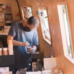 FLOATING COFFEE SHOP OPENS AT PORT LOOP