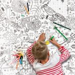 WIN A COLOUR IN TABLECLOTH FOR HOURS OF CREATIVE ENTERTAINMENT