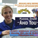 CBEEBIES COMES TO THE SPACE CENTRE