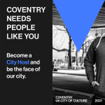 COVENTRY NEEDS YOU! HOW YOU CAN SIGN UP TO BE A CITY HOST