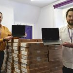 CHARITY DELIVERS GRANT OF NEARLY £30,000 TO PURCHASE LAPTOPS FOR CHILDREN IN LEICESTERSHIRE