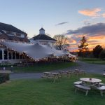 OUTDOOR DINING OPEN AT SAM'S CLUB HOUSE, THE BELFRY