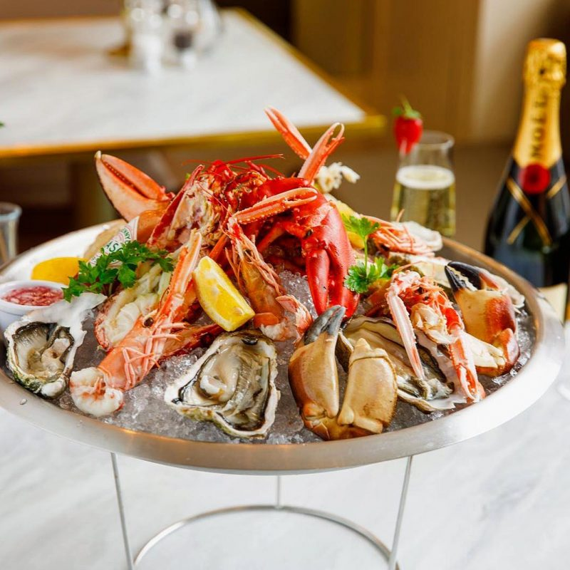 Eating a live lobster is a real event for seafood lovers, a decadent luxury that is hard to find in a landlocked place like the Midlands.