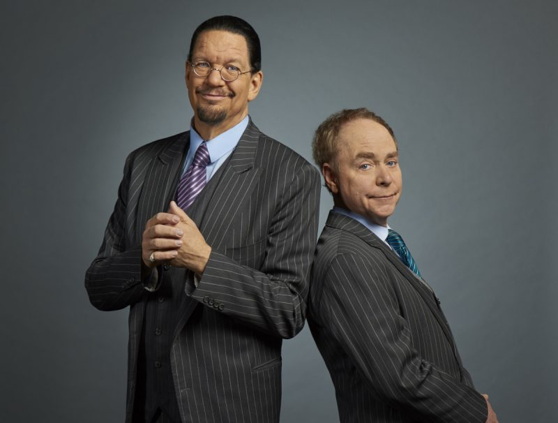 As hit West End show Magic Goes Wrong embarks on a national tour opening right here in Leicester at Curve, legendary magicians Penn and Teller reveal how they found themselves working with the team behind The Play That Goes Wrong