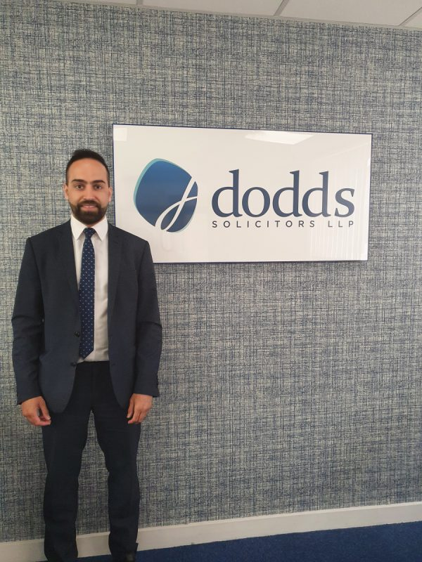 Historic Leicester law firm, Dodds Solicitors LLP are pleased to announce the arrival of a new team member.