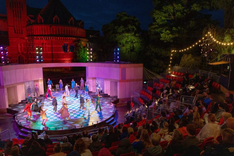 The Royal Shakespeare Company (RSC) re-opened its doors to paying audiences for the first time in sixteen months last week with a new production of Phillip Breen's The Comedy of Errors.