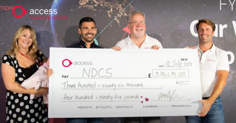 Leading business software provider, The Access Group, based in Loughborough, has raised a total of £376,495 for the National Deaf Children's Society as its chosen Charity of The Year.