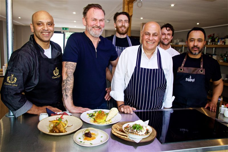 The heat was on for four talented chefs – including two from Coventry - who competed in a Masterchef-style cook-off judged by celebrity chef Glynn Purnell, last week.