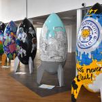 40 giant Rocket sculptures land across the city